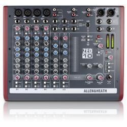 ALLEN & HEAT ZED 10:2 mikser dźwięku 4 mono, 2 stereo, port USB