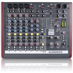 ALLEN & HEAT ZED 10FX/X mikser dźwięku 4 mono, 2 stereo, port USB, procesor FX
