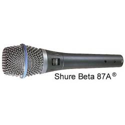 SHURE BETA 87 A mikrofon wokalny pojemnościowy