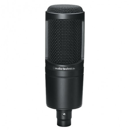 AUDIO-TECHNICA AT-2020 mikrofon pojemnościowy studyjny wielkomembranowy