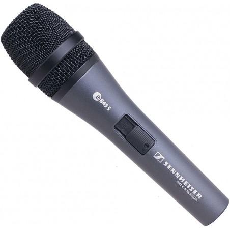SENNHEISER E845-S mikrofon wokalny dynamiczny do ręki