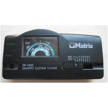 MATRIX SR-1000 tuner-stroik gitarowy