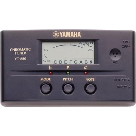 Yamaha YT-250 tuner-stroik chromatyczny