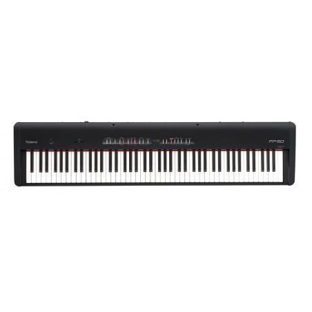 ROLAND FP-50 (BK, WH)  pianino cyfrowe, STAGE PIANO