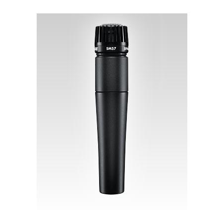 SHURE SM 57 mikrofon   dynamiczny instrumentalny do trąbki, saksofonu, harmonijki