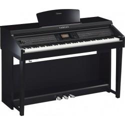Yamaha CVP 701 PE CLAVINOVA pianino cyfrowe (czarny połysk)