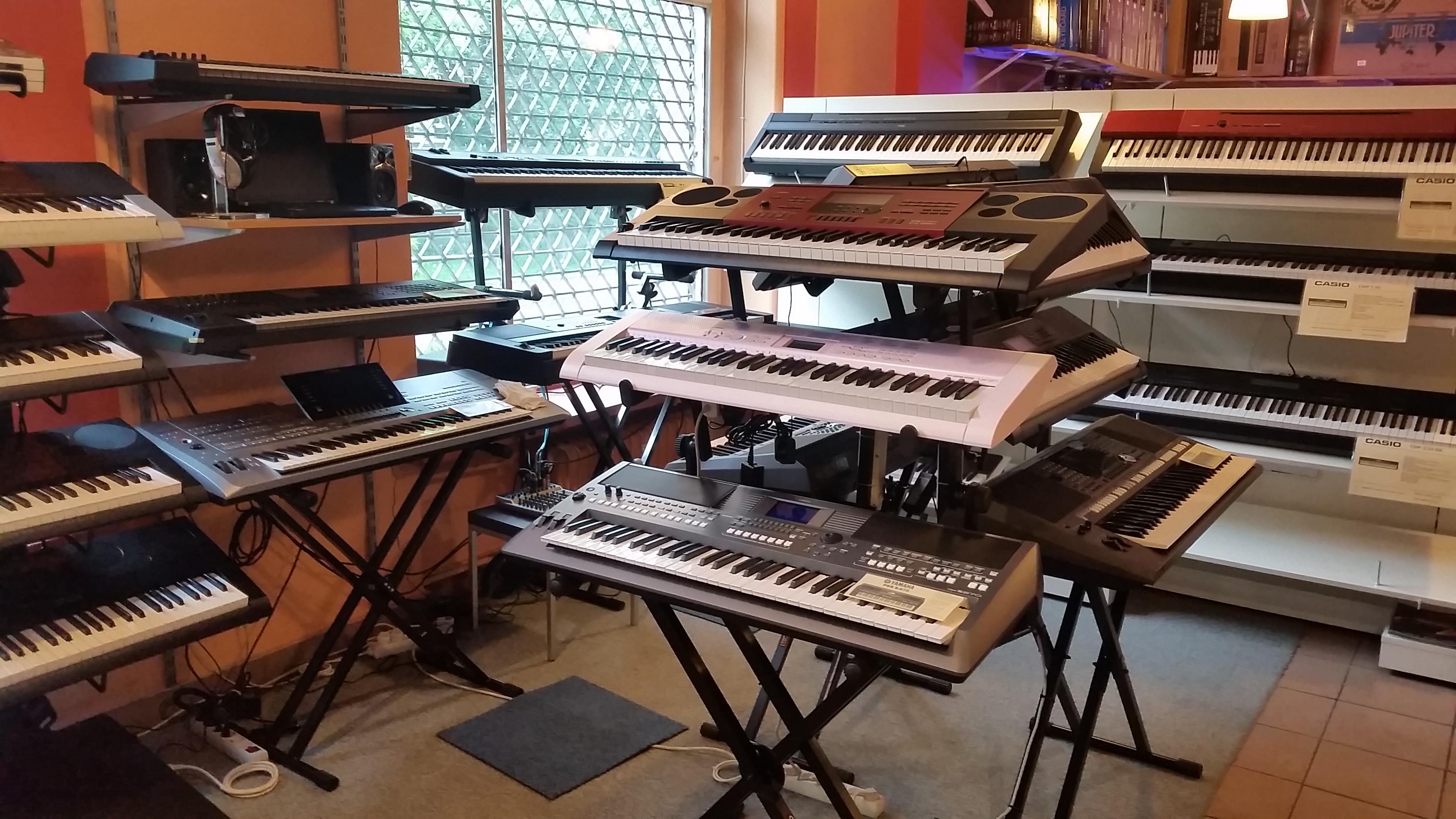 Ekspozycja 'Keyboard dla każdego w GAMUZ'