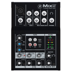MACKIE MIX5 analog mixer