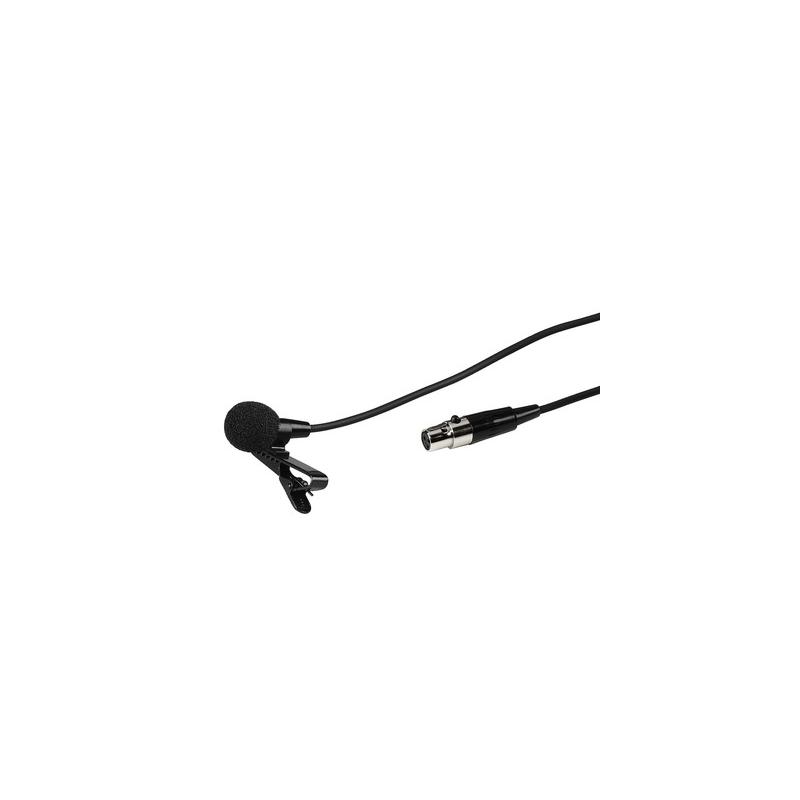 IMG STAGE LINE ECM-300L mikrofon elektretowy krawatowy instrumentalno wokalny z zasilaczem EMA-300P