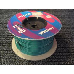 KLOTZ IY106 GN kabel instrumentalny szpula 100 m zielony