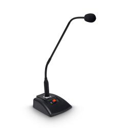 LD Systems D1015CM + D1015CMB mikrofon konferencyjny gęsia szyja 33 cm