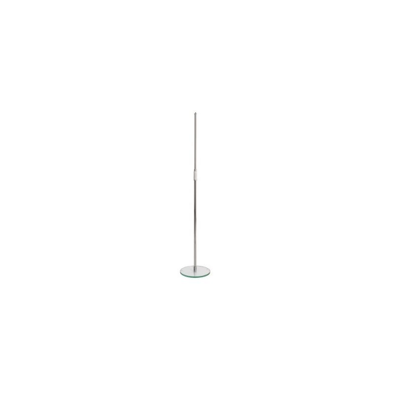 König & Meyer KM 26150 statyw mikrofonowy estradowy prosty z podstawą szklaną