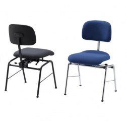 KOLBERG PERCUSSION Orchestra chair with comfort seat, seat height 48 cm krzesło orkiestrowe