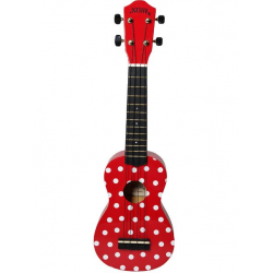 Noir NU1S LADYBUG ukulele sopranowe z pokrowcem