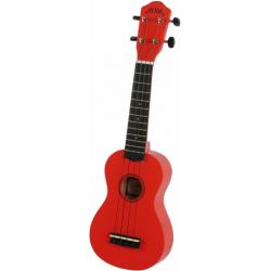 Noir NU1S RED ukulele sopranowe z pokrowcem