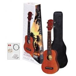MIGUEL ALMERIA ukulele sopranowe ZESTAW