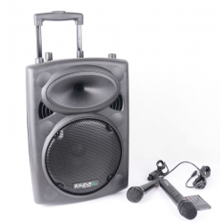 IBIZA PORT10UHF-BT  zestaw nagłośnieniowy aktywna kolumna, Portable Karaoke