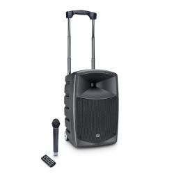 LD Systems ROADBUDDY 10 Zasilana z akumulatorów kolumna Bluetooth z mikserem i mikrofonem bezprzewodowym