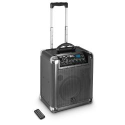 LD Systems Roadjack 10 Zasilany bateryjnie głośnik bluetooth z mikserem
