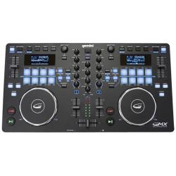 GEMINI GMX Kontroler DJ-ski, 2-kanałowy, Interfejs, USB, VirtualDJ LE