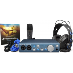 Presonus AudioBox iTwo Studio - zestaw - interfejs audio USB, mikrofon, słuchawki, program