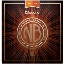 D'ADDARIO NB 1047 struny do gitary akustycznej