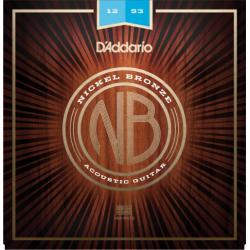D'ADDARIO NB 1253 struny do gitary akustycznej