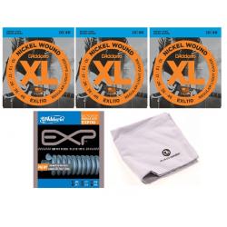 D'ADDARIO  EXL 110 / EXP 110 / PW-MPC zestaw strun do gitary elektrycznej