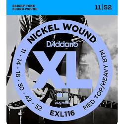 D'ADDARIO EXL 116 struny do gitary elektrycznej