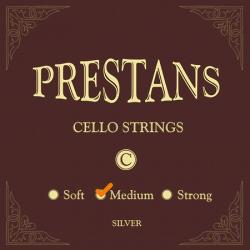 PRESTANS struna C do wiolonczeli 4/4 silver