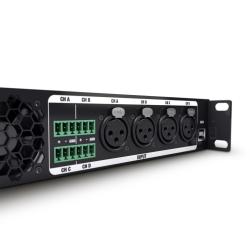 LD Systems CURV 500 iAMP® 4-kanałowa końcówka mocy klasy D do stałych instalacji
