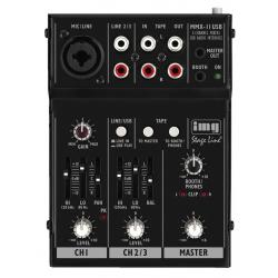 IMG Stage Line MMX-11USB miniaturowy mikser akustyczny