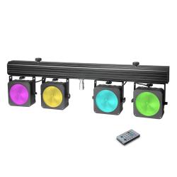 Cameo Multi PAR COB 1 belka oświetleniowa 4 x 30 W