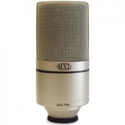 MXL 990 – Mikrofon pojemnościowy studyjny