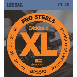D'ADDARIO EPS 510 struny do gitary elektrycznej