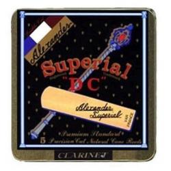 ALEXANDER Classique stroiki do klarnetu B twardość 2