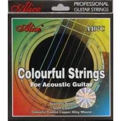 ALICE A 407C struny do gitary akustycznej