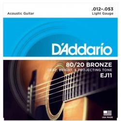 D'ADDARIO EJ-11 struny do gitary akustycznej