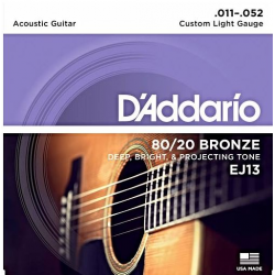 D'ADDARIO EJ-13 struny do gitary akustycznej
