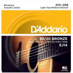 D'ADDARIO EJ-14 struny do gitary akustycznej