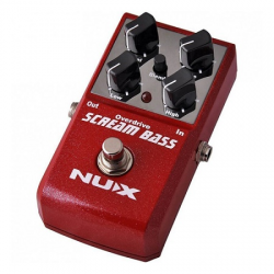 NUX SCREAM BASS efekt do gitary basowej