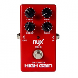 NUX HG 6 DISTORTION HIGH GAIN efekt gitarowy