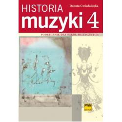 HISTORIA MUZYKI cz. 4 Danuta Gwizdalanka