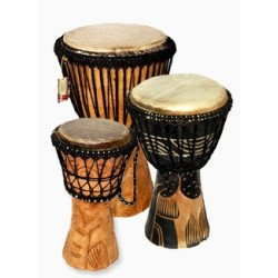Ghana djembe different sizes