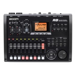 ZOOM R8 digital multi-track...