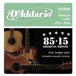 D'ADDARIO EZ-920 acoustic...