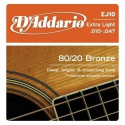 D'ADDARIO EJ-10 acoustic...