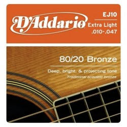 D'ADDARIO EJ-10 struny do gitary akustycznej