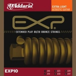 D'ADDARIO EXP-10 struny do...