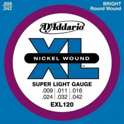 D'ADDARIO EXL-120 struny do...